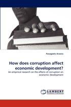 How Does Corruption Affect Economic Development?
