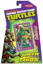 Teenage Mutant Ninja Turtles Power Cards Incl. Donatello Figure - Kaartspel