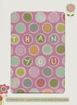 Colorful Dots Thank You Cards