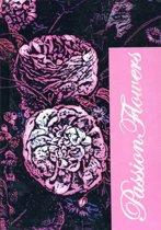Pasion Flowers Notitieboek met harde kaft A6