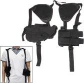 Practical & Convenient Nylon Outdoor Military Axillary Holster(zwart)
