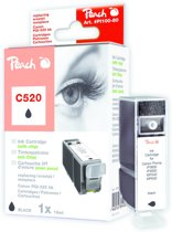 Peach C520/PGI-520 inktcartridge zwart.