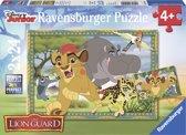 Ravensburger Disney The Lion Guard Avontuur in de savanne Twee puzzels van 24 stukjes