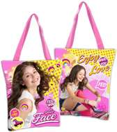 Disney Soy Luna Enjoy Love - Shopper- 32 cm - Roze - Geel
