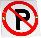 Pictogram: verboden te parkeren
