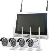 CCTV NVR set camerasysteem 4 camera's Buiten Plug & Play Wireless