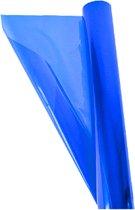 3 rollen - Transparante - folie - Blauw - inpakken - kado - 70cm x 2mtr