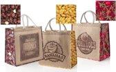 Boodschappentassen - Shopper - Set van 3 verschillende designs