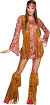 Hippie peace kostuum voor vrouwen - Volwassenen kostuums - Carnavalskleding