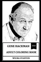 Gene Hackman Adult Coloring Book