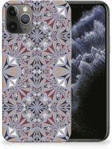 TPU Siliconen Hoesje iPhone 11 Pro Bloemen