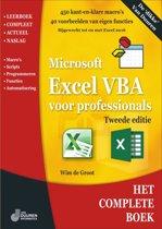 Excel VBA voor professionals, 2e editie