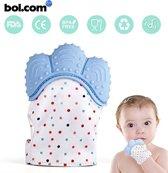Bijtspeelgoed| Baby bijtring | Baby speelgoed 0 tot 2 jaar | Knisper speelgoed | Bij doorkomende tandjes | Tandvlees pijn |Kraamcadeau | Zwangerschap | Blauw