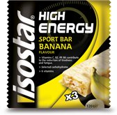 Isostar High Energy Banaan - 3 stuks - Sportreep