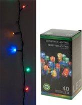 Kerstverlichting gekleurd buiten 40 lampjes