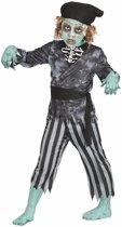 Halloween - Zombie piraten kostuum / outfit voor jongens - Halloween horror kleding 10-12 jaar (140-152)
