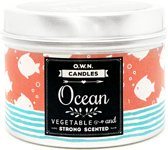 One with Nature Travel Candle Ocean