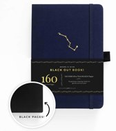 Archer & Olive The Blackout Book A5 Dotted - Night Sky