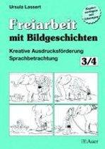 Freiarbeit mit Bildgeschichten 3/4. Druckschrift