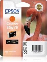 Epson T0878 - Inktcartridge / Oranje