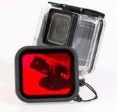 ZFY GoPro Hero 5 6 Dive Housing met Dive Filter – Duik / Onderwater / Waterproof Behuizing Case voor GoPro Hero 5 6