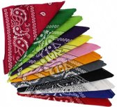 Paisley bandana pakket (12 stuks) - Zac's Alter Ego