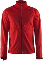 Craft Bormio Softshell Jacket men bright red l