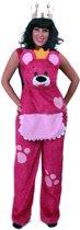 Knuffelbroek teddybeer roze glitter mt.116