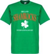 Ierland Rugby T-Shirt - Groen - XS