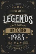 Real Legends were born in Oktober 1985