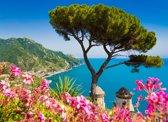 Papermoon Campania Amalfi Coast Vlies Fotobehang 200x149cm 4-Banen