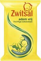 Zwitsal Baby Vochtige Zakdoekjes Ademvrij Eucalyptus en Kamille - 1 Stuk