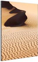 Woestijn Sossusvlei Namibie Aluminium 20x30 cm - klein - Foto print op Aluminium (metaal wanddecoratie)