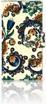 Sony Xperia X Performance Bookcase Design Barok Flower