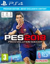 Pro Evolution Soccer 2018 - Premium Edition - PS4