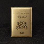 Paspoort Cover Goud Paspoorthoes Paspoorthouder Gold Paspoort Hoesje Mapje