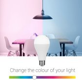 Smartwares 10.051.50 Slimme E27 Kleurlamp – PRO Series – Regelbaar gekleurd licht – Uitbreiding