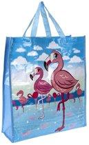 Kamparo Flamingo Boodschappentas 25 Liter Blauw
