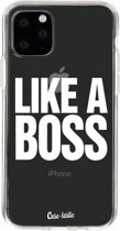 Casetastic Smartphone Hoesje Softcover Apple iPhone 11 Pro - Like a Boss