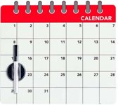Balvi maandplanner koelkastmagneet