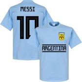 Argentinië Messi Team T-Shirt - XS