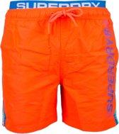 Superdry State Volley  Zwembroek - Maat XL  - Mannen - oranje/blauw/zwart/wit