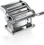 Atlas 150 - Pastamachine met Verwisselbare Kop - Chroom/Aluminium Marcato