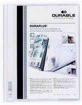 43x Durable personaliseerbare snelhechtmap Duraplus wit