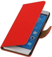 Huawei Honor 6 Plus Rood   bookstyle / book case/ wallet case Hoes    WN™