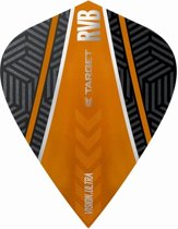 Target Ultra Raymond van Barneveld Kite Curve Black Orange  Set à 3 stuks