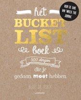 Omslag van 'Het Bucketlist-boek'