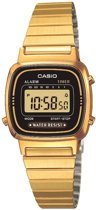 Casio Collection LA670WEGA-1EF - Horloge - 25 mm - Staal - Goudkleurig
