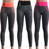 yoga annex sportleggings (3pack)