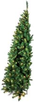 Royal Christmas Dakota Halve Kunstkerstboom - 180 cm - 200 warme LED lampjes - 743 Takken - Ruimtebesparend!